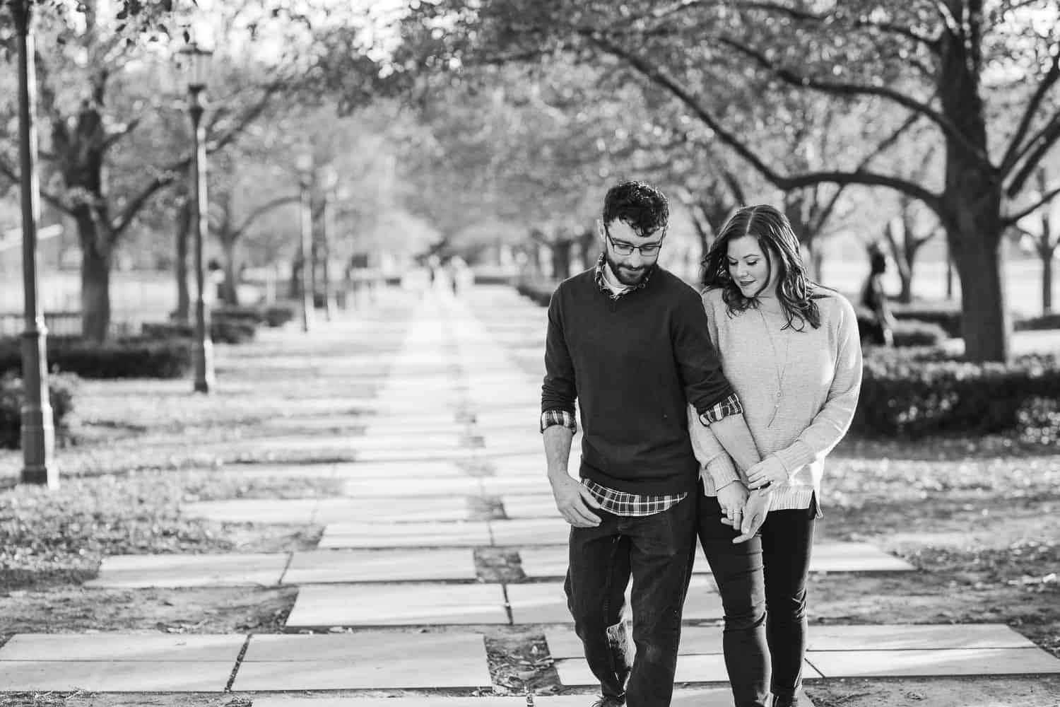 Nelson-Atkins Museum Engagement Session