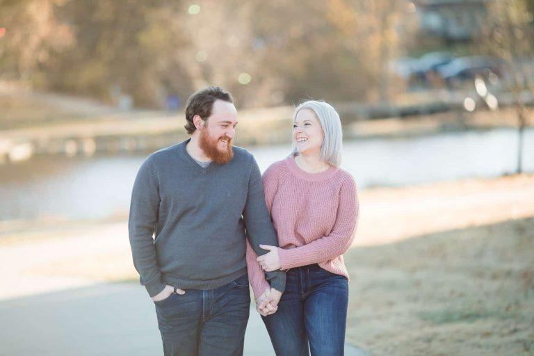 Lenexa Kansas engagement session