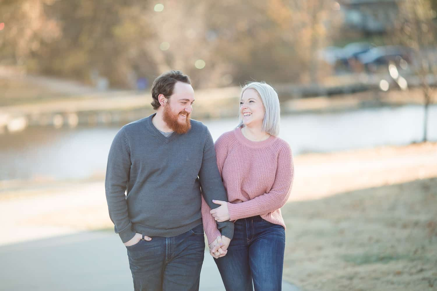 Lenexa Kansas engagement session