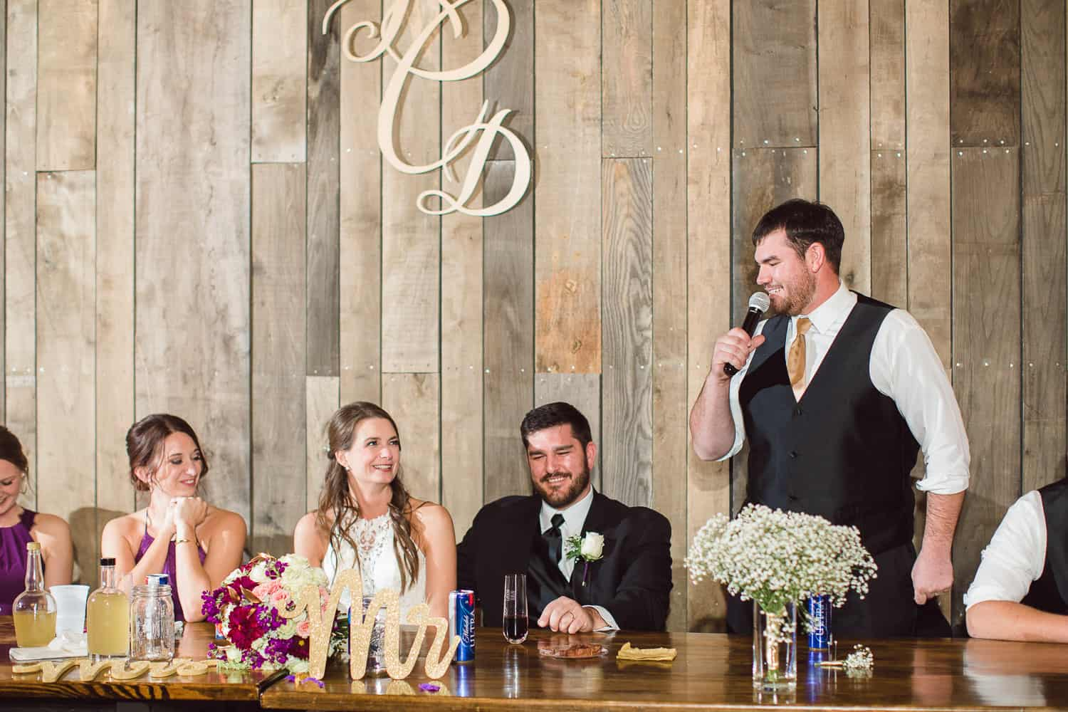 Home Place at Valley View wedding reception
