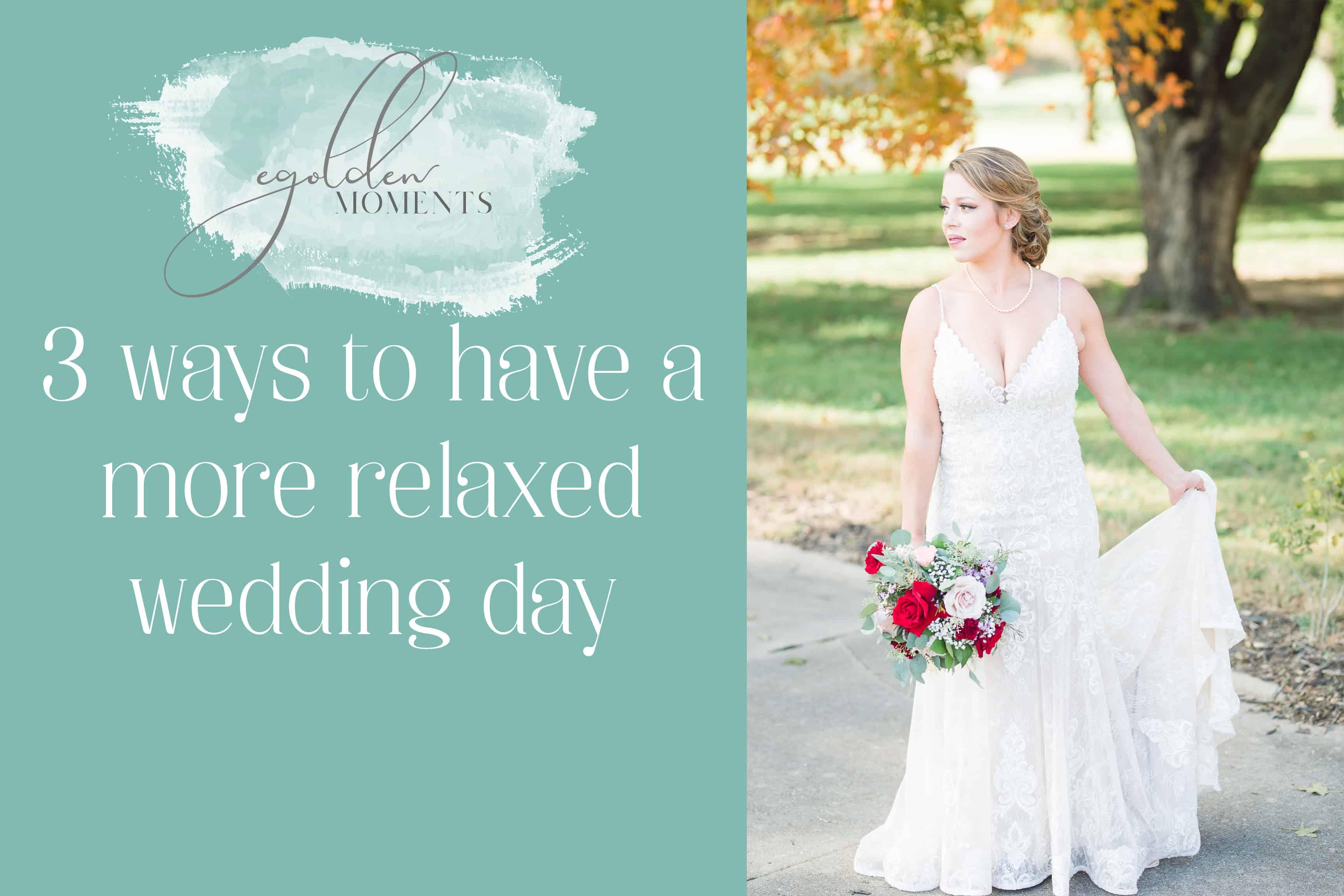 Guarantee a fun wedding day