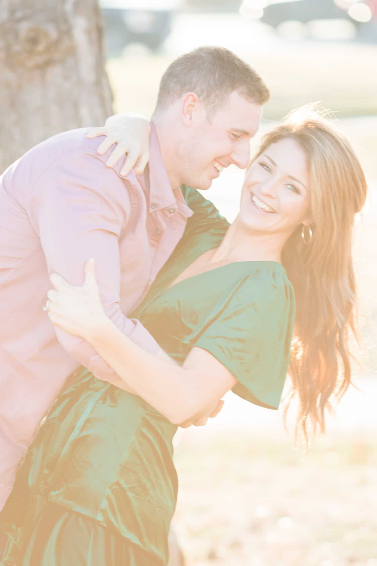 The Plaza Winter Engagement Session