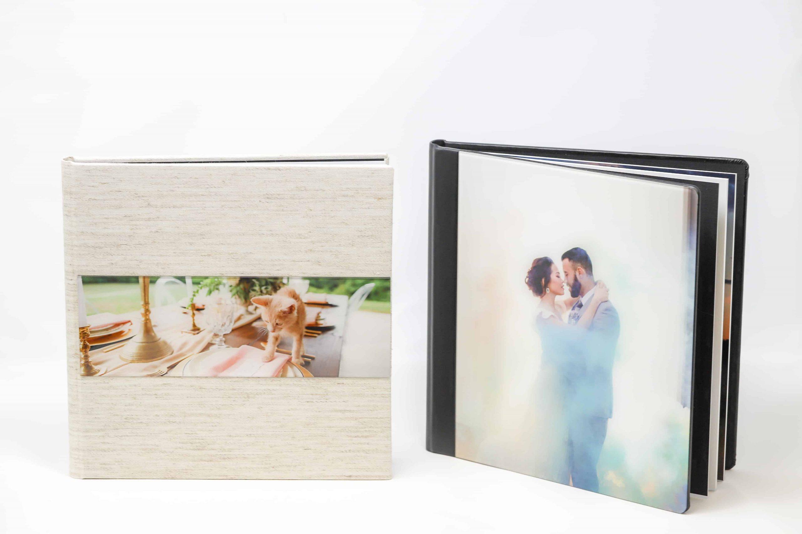 Kansas City photographer wedding album