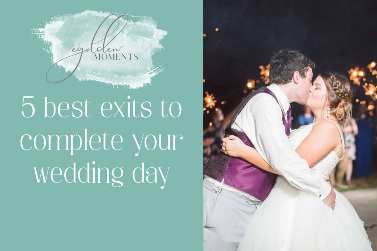 Best wedding exit ideas