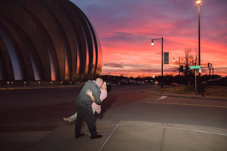 Kansas City Crossroads engagement session