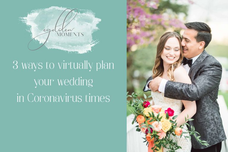 how to virtually plan your wedding due to coronavirus