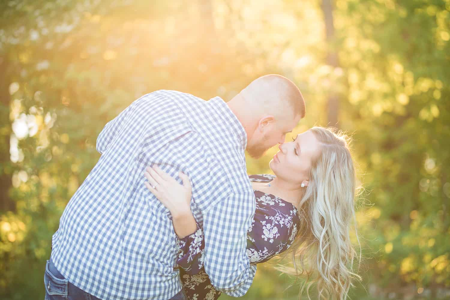 Wyandotte County Lake Engagement