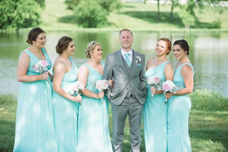 Wedding portaits Mildale Farm wedding Gardner Kansas