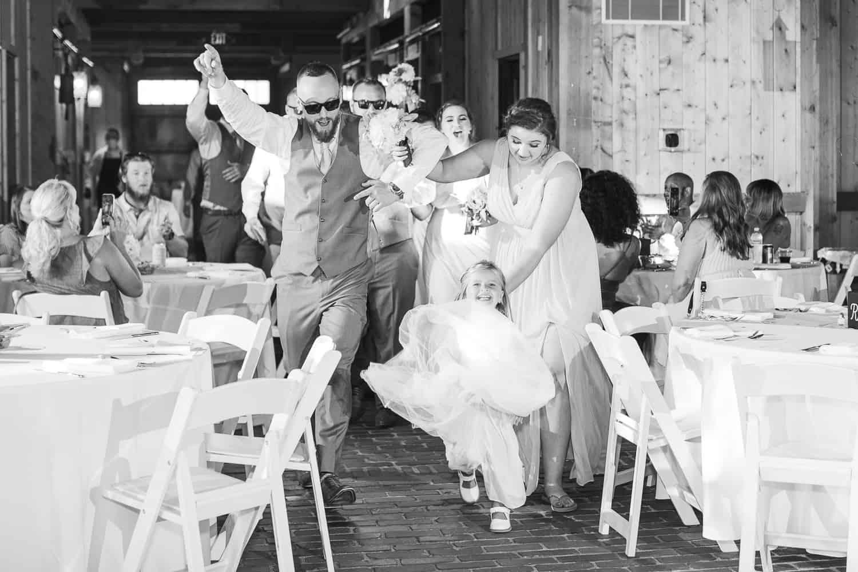 Mildale Farm wedding reception