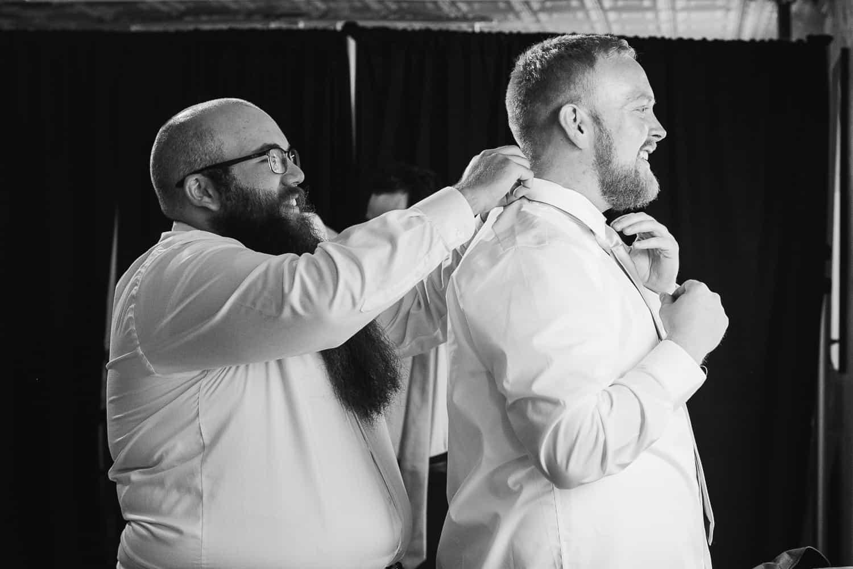 Vox theatre wedding in Kansas City