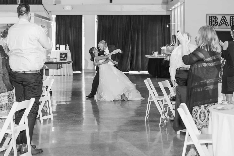 Vox theatre wedding portraits