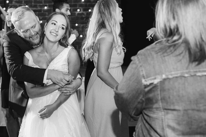 Vox theatre wedding reception in Kansas City