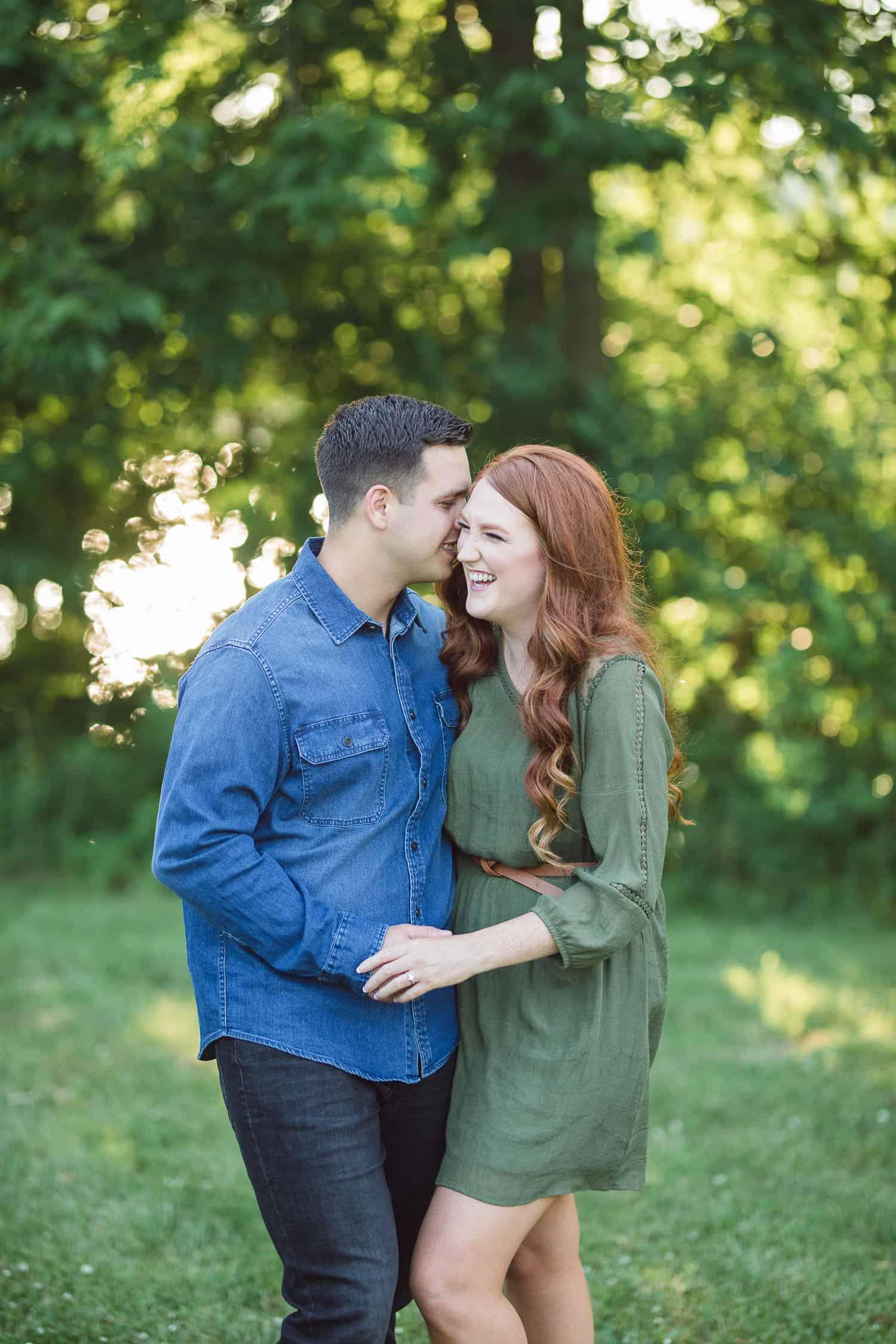 Wyandotte County engagement photos