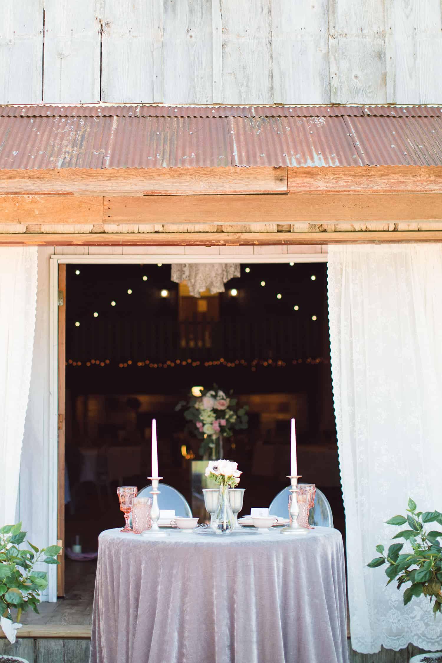 Backwoods Venue 222 wedding
