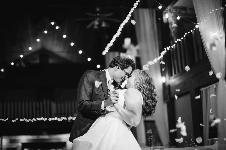 Gower Missouri indoor wedding