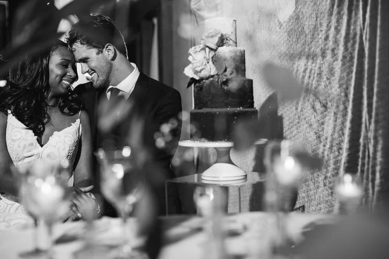 Night time wedding photos at Backwoods 222 venue