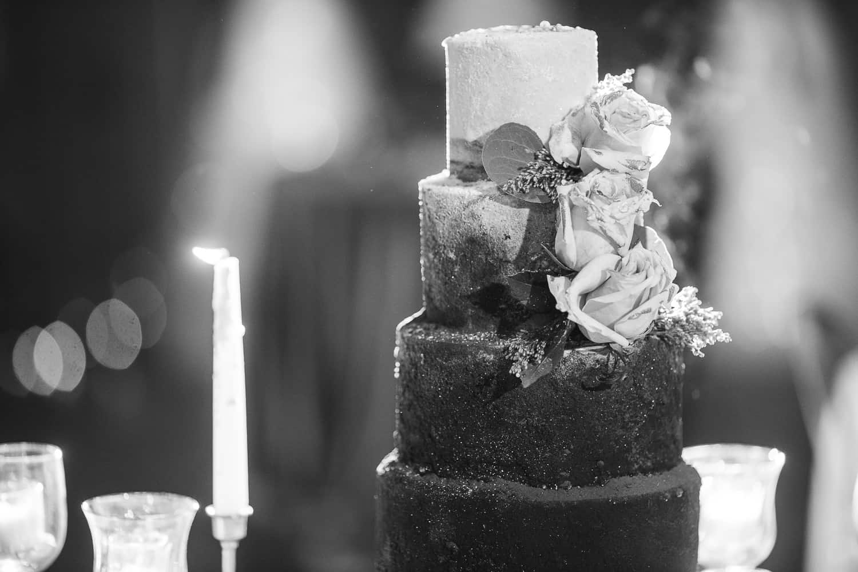 Backwoods 222 wedding cake a boo