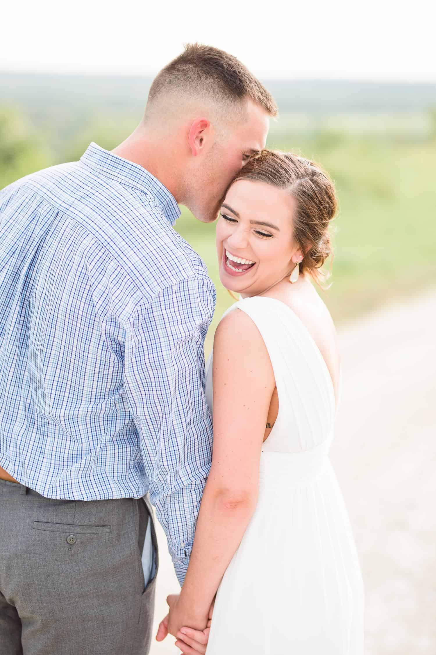 Wedding pictures in Fort Riley Kansas