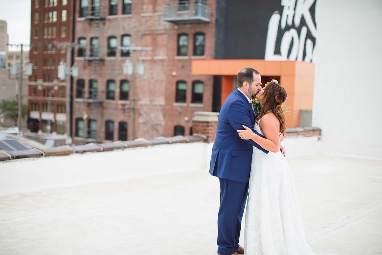 The Wild Way Coffee Warehouse wedding