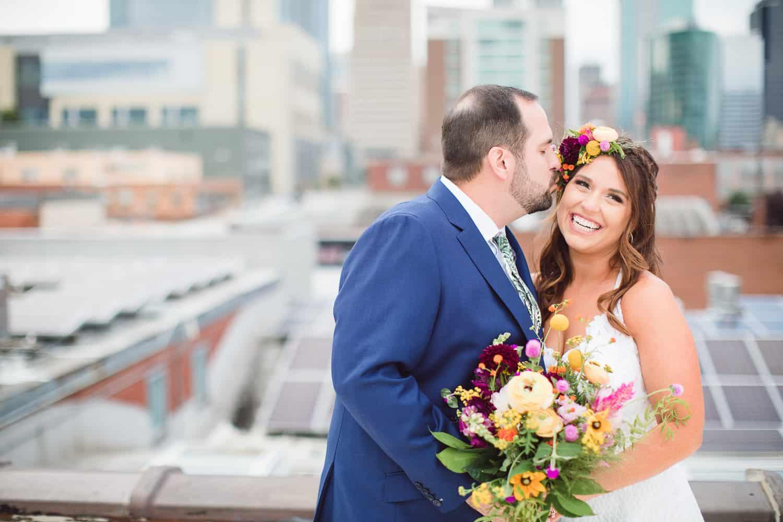 The Union Event Space Kansas City wedding