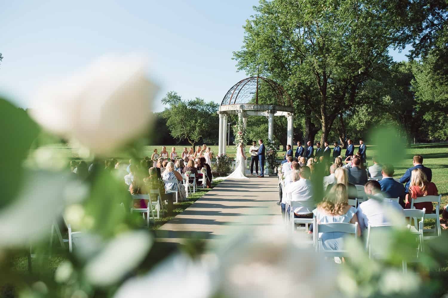 Belvoir Winery summer wedding