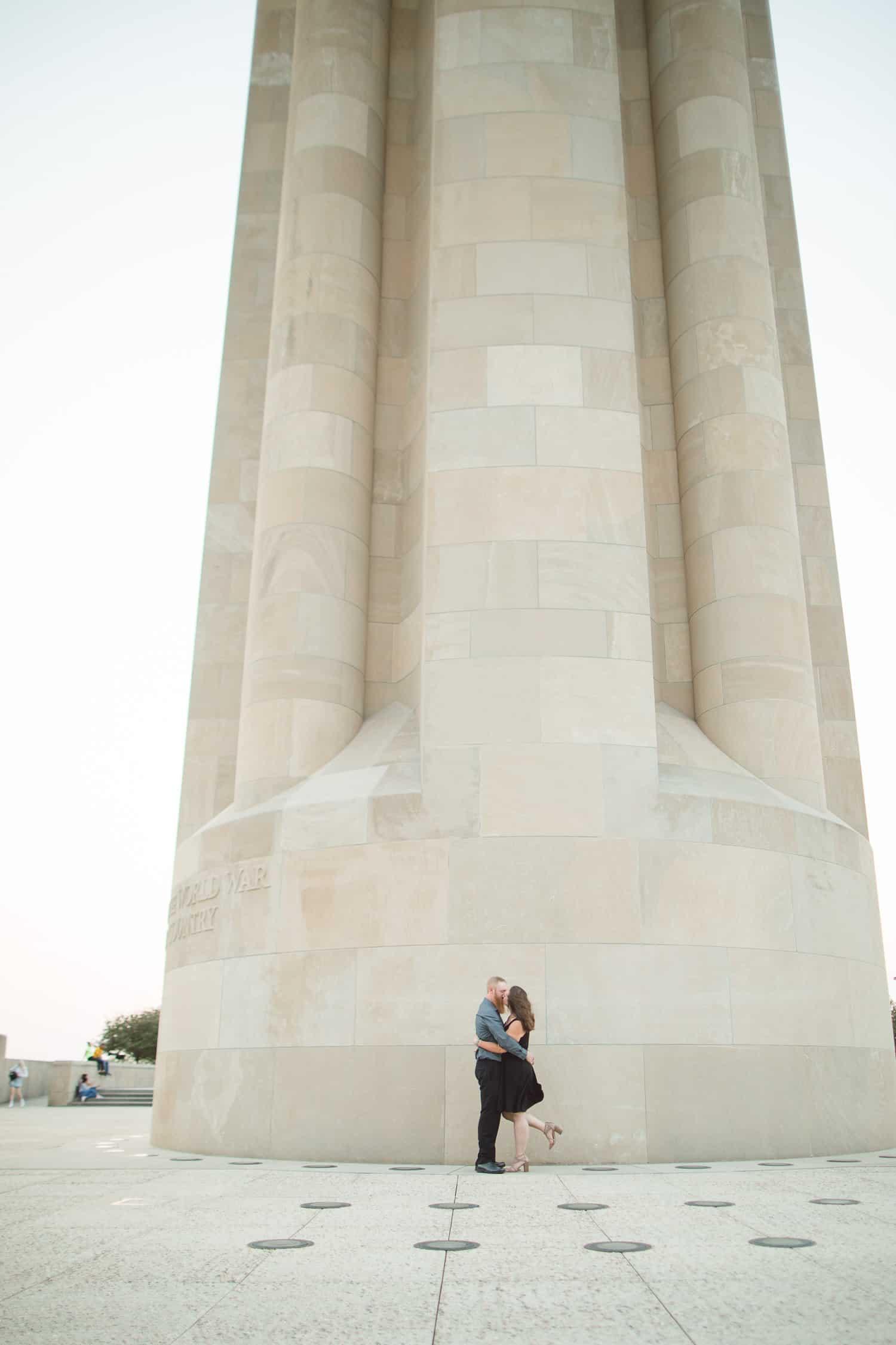 Liberty Memorial engagement session