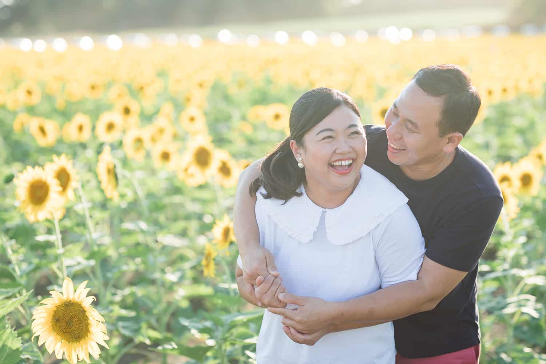 grinter sunflower farm photo session in Lawrence Kansas