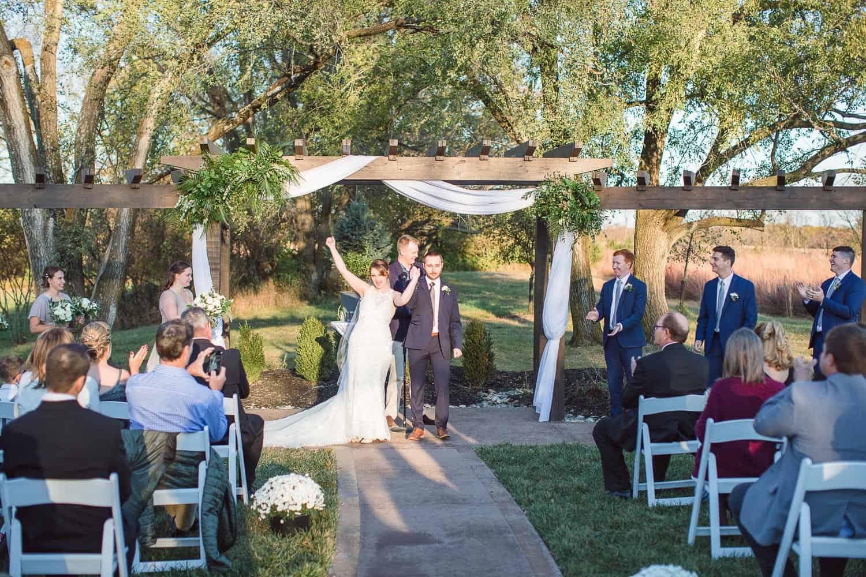 Legacy at Green Hills wedding in Kansas City wedding ceremony