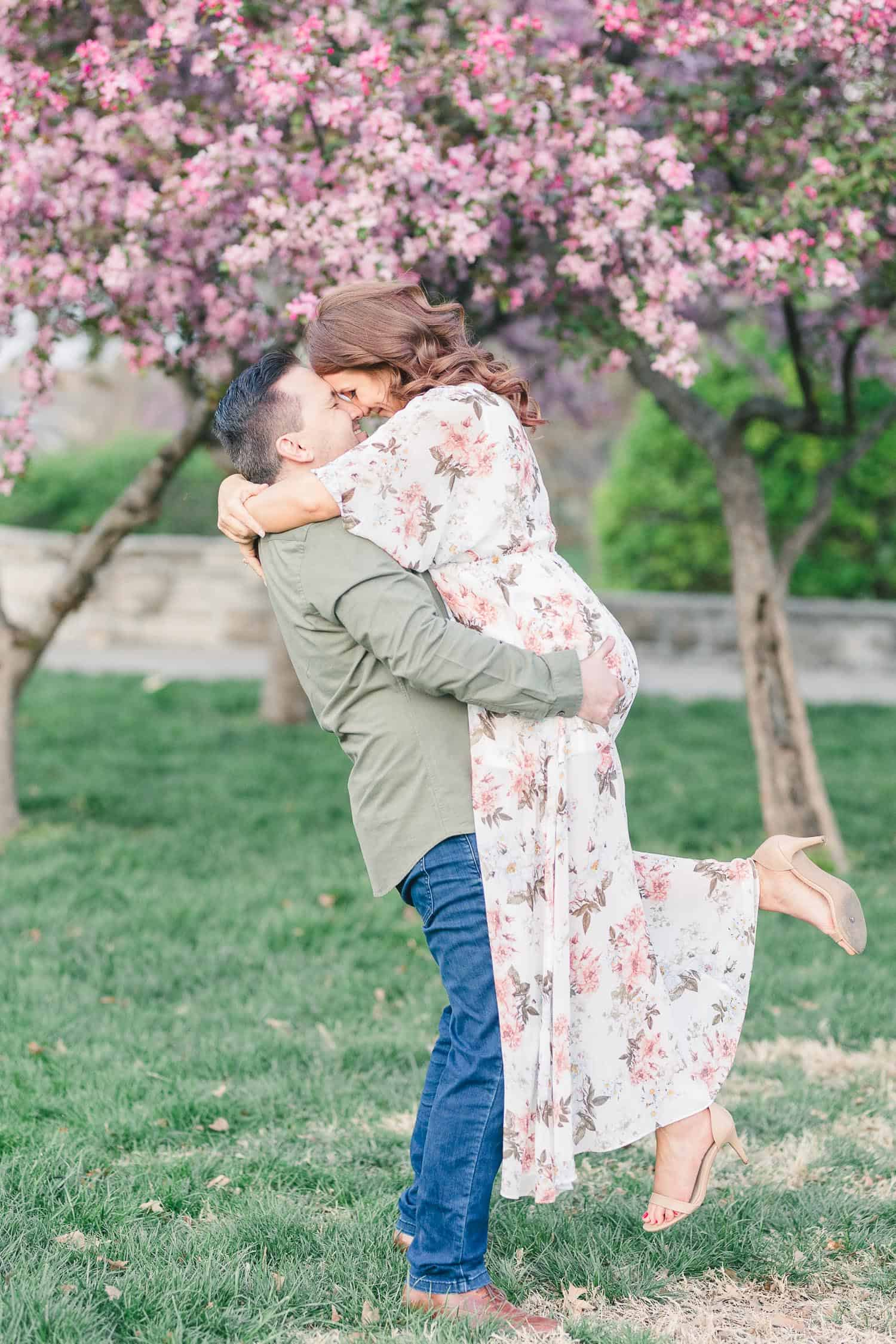 Loose Park Kansas City engagement photos