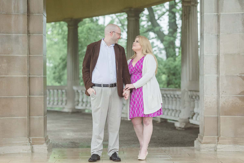 The Colonnade Kansas City engagement session