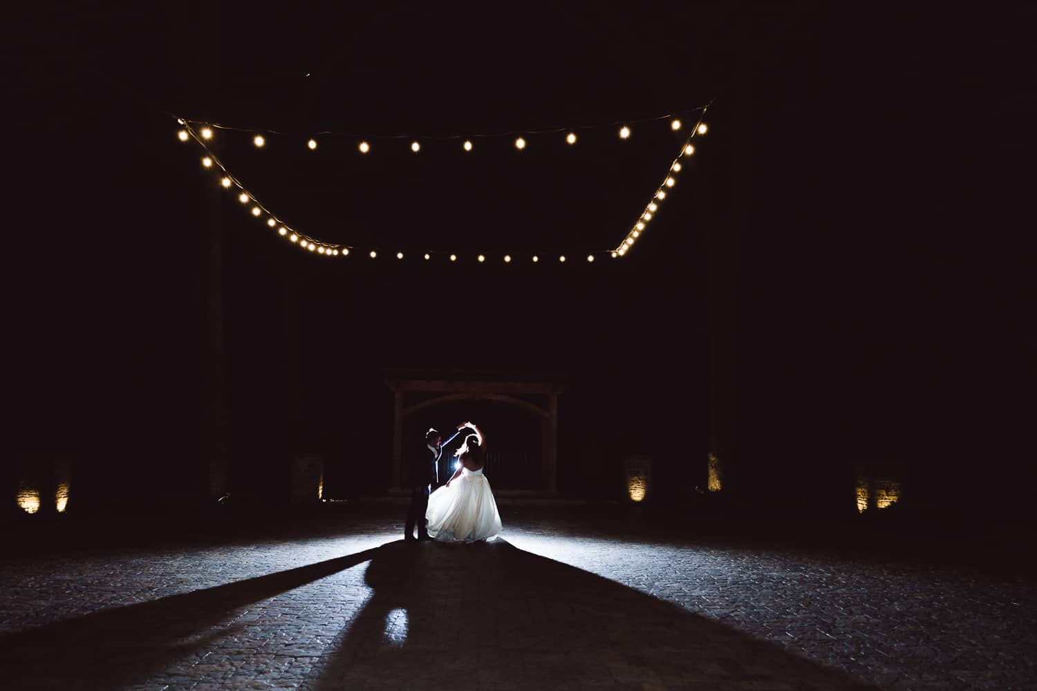 Night pictures at Timber Creek Event Center in St. Joe