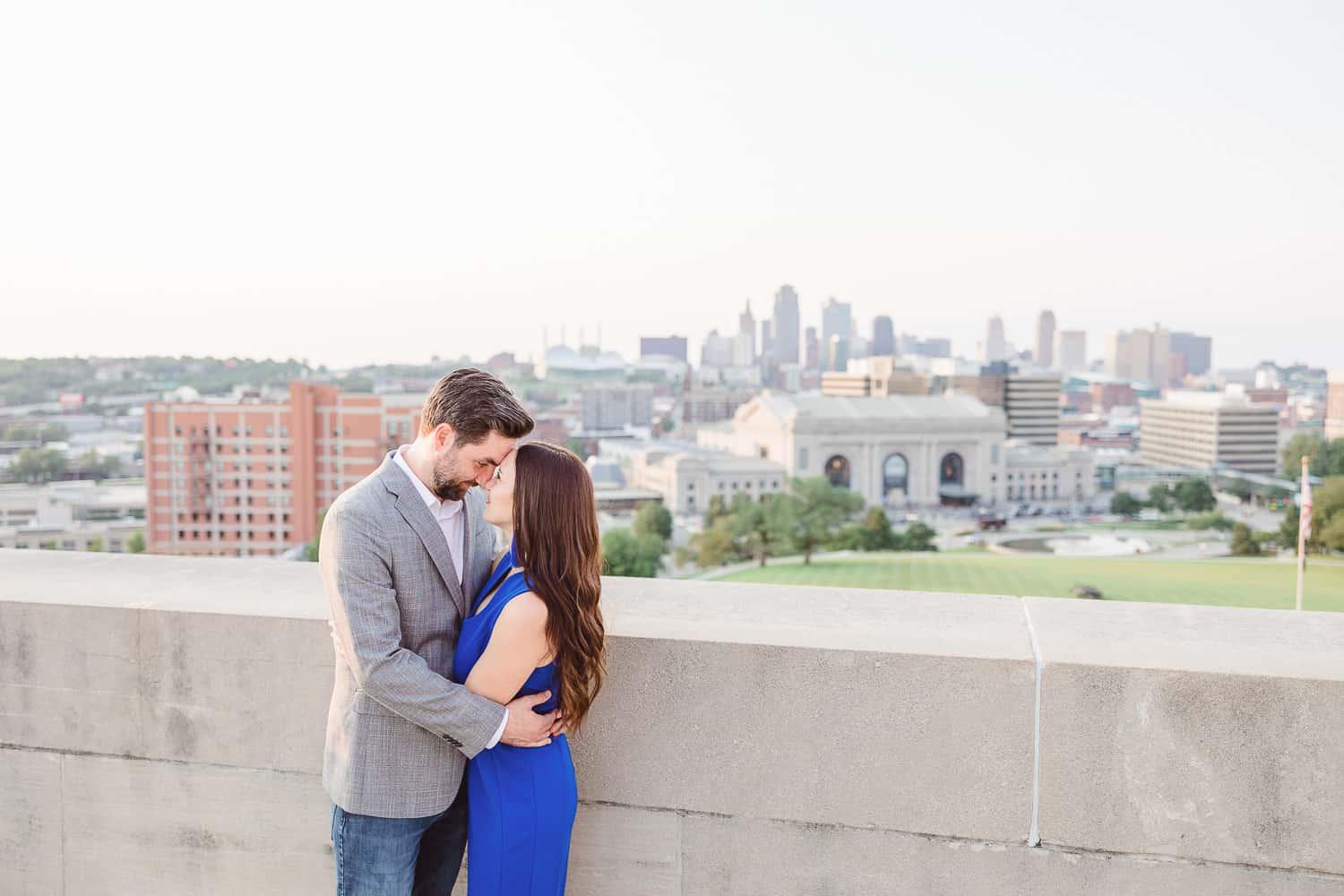 Liberty Memorial engagement pictures