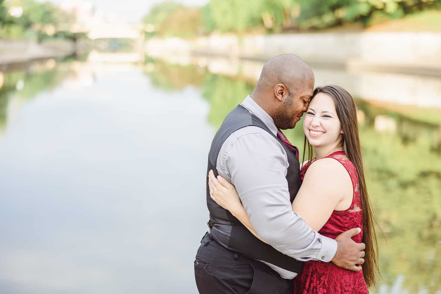 The Plaza engagement session