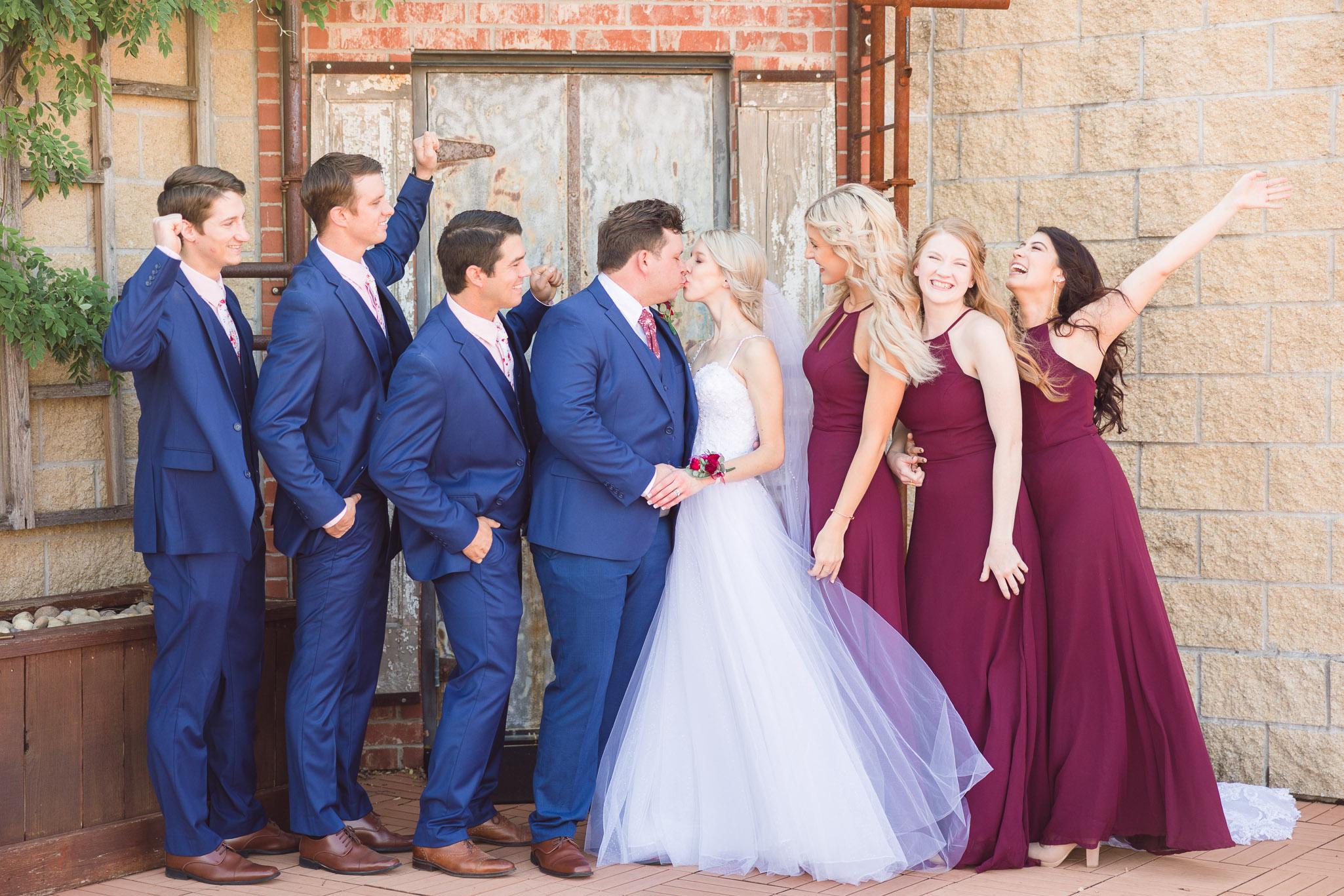 The Stanley wedding reception in Lee's Summit Missouri