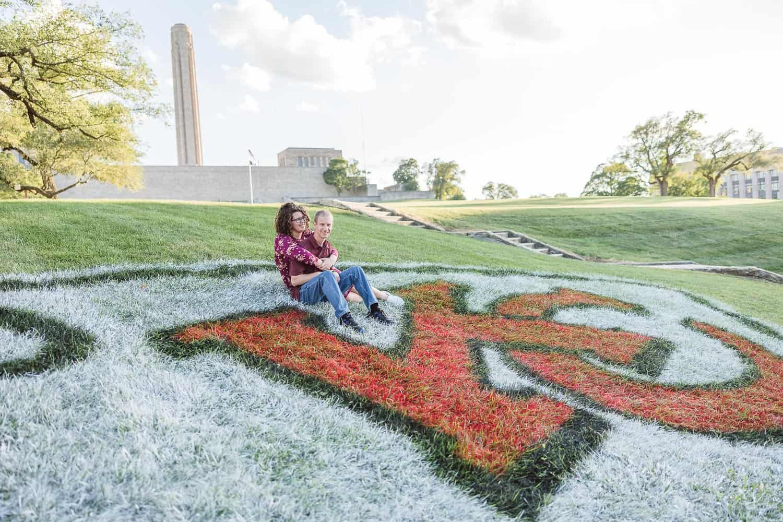 Liberty memorial engagement photos